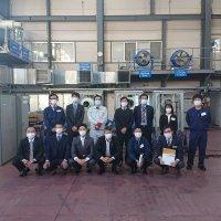 ㈱鎌倉製作所殿の実機見学体験会に参加いたしました